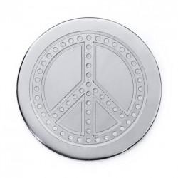 "Medallon viceroy plaisir mujer ""paz en el mundo"""