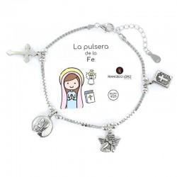 Pulsera De La Fe Mujer...