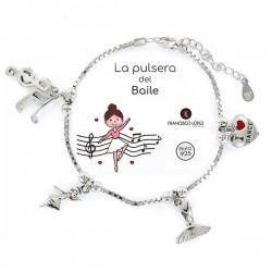 Pulsera Del Baile Plata 1...