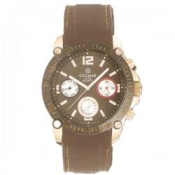 Reloj Hombre Caucho marrón...