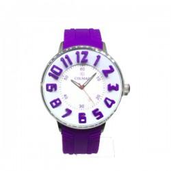 Reloj unisex lila...