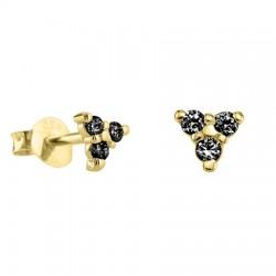 Pendientes Diamantes Negros...