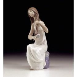Figura Nao Porcelana...