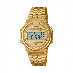 Reloj Casio Digital Vintage Dorado A171weg-9aef