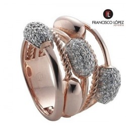 Anillo Pretty Jewels quituple semillas 00505157