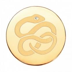 Medallon Viceroy plaisir ip dorado
