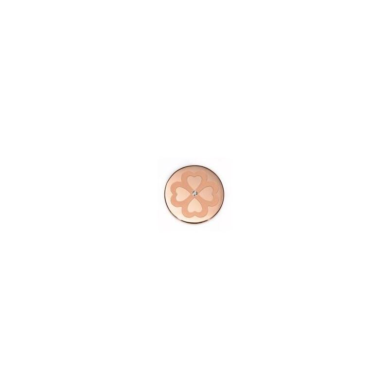 Medallon Viceroy plaisir acero rosado