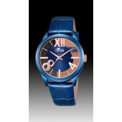 Reloj Lotus mujer correa azul 18307/1