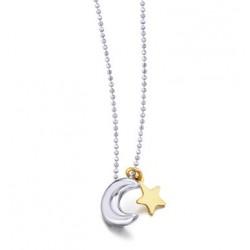 Colgante Luna y Estrella