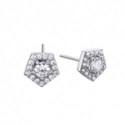 Pendiente Pretty Jewels de Duran Exquse de Plata