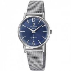 Reloj Festina Cb malla esfera azul F20252/3