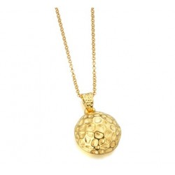 Collar LeCarre plata mujer dorado LD025AM.00