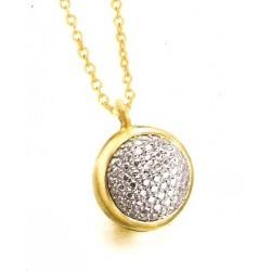 Collar LeCarre plata mujer dorado LD042AM.00