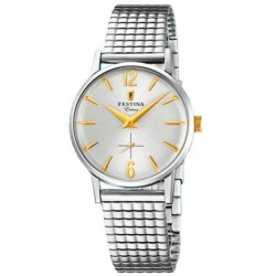 Reloj Festina mujer extensible acero vintage F20256/2