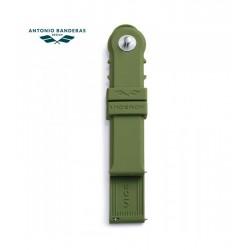 Correa Viceroy 20 mm Antonio Banderas Verde, 301-401047-6