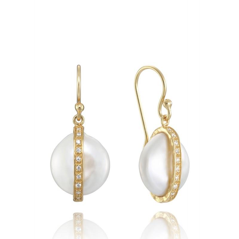 Pendientes Viceroy jewels con detalle perla 4060E100-66
